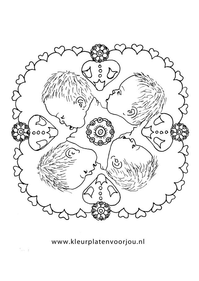Baby Mandala Kleurplaten Voor Jou