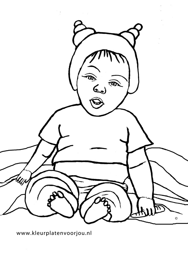 Baby Kleurplaat Kleurplaten Voor Jou