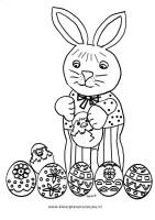 paashaas-met-eieren-kleurplaat