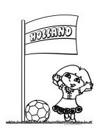 Dora Voetbal Kleurplaten