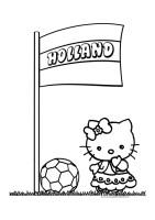 Hello Kitty Kleurplaten Voetbal