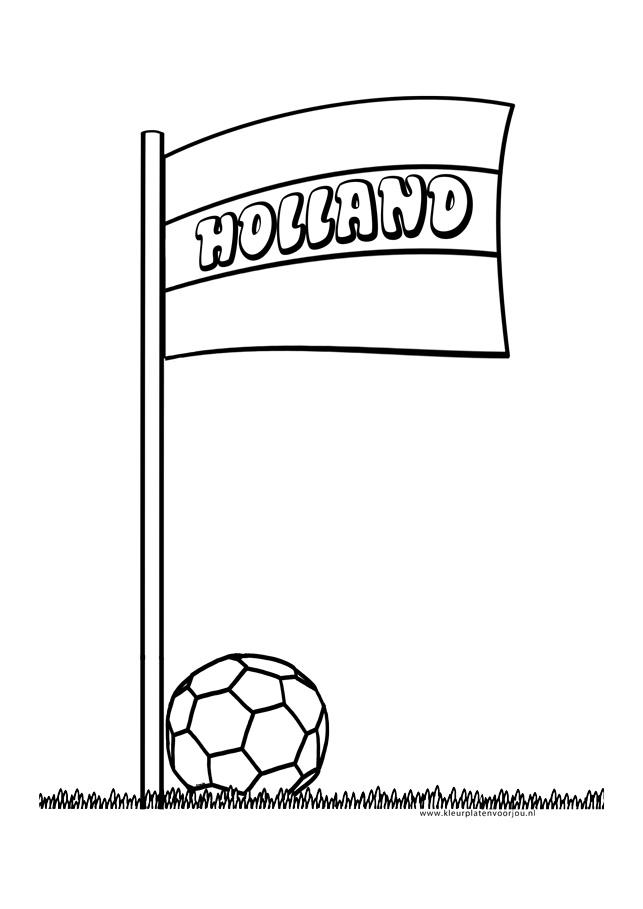 Voetbal Kleurplaten Ek.Kleurplaat Voetbal Kleurplaten Voor Jou