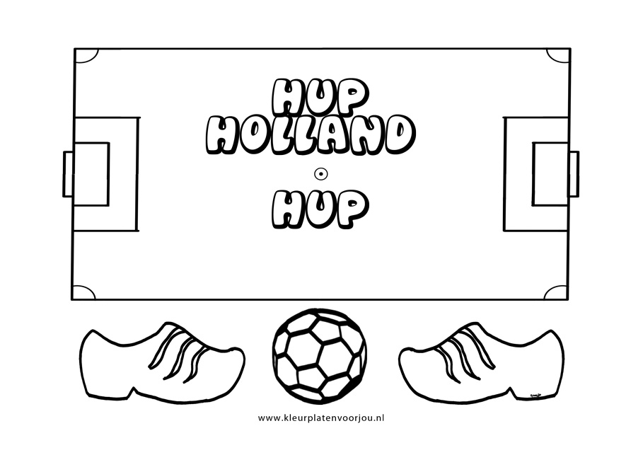 Holland And Holland >> Kleurplaten Voetbal - Kleurplaten voor jou