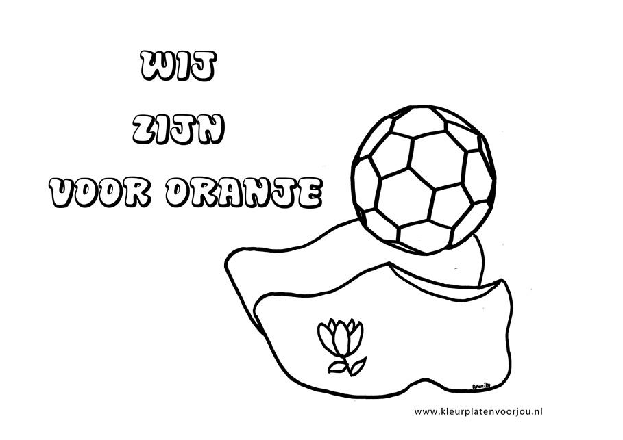 Kleurplaten Voetbal Poppetjes.Voetbal Kleurplaat Kleurplaten Voor Jou